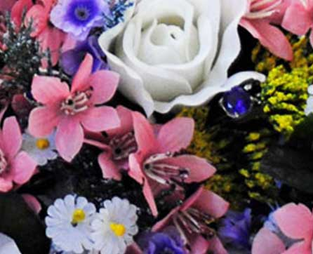 budget silk wedding bouquets starting at 999