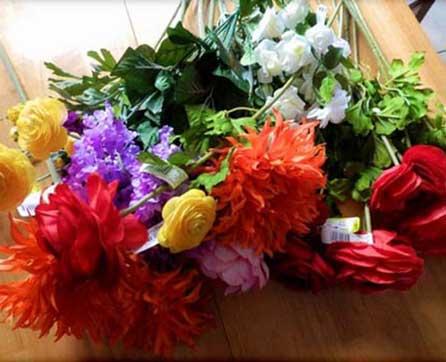 Do it yourself Silk Wedding Bouquets