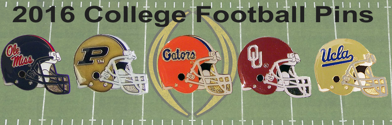 College Football Pins