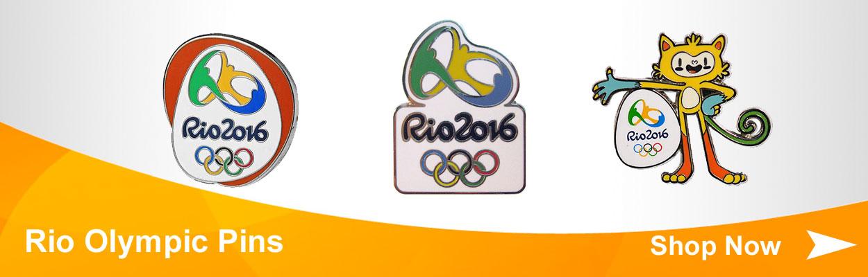 Rio Olympic Pins