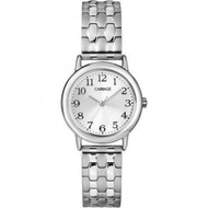 Carriage by Timex C3C744 Women's Silver Tone Expansion Band Watch