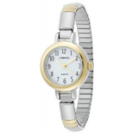 Carriage Womens Two Tone Expansion Band Watch C56291