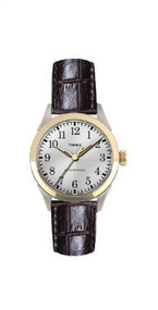 Timex Men's Briarwood Terrace Black Leather Strap Casual Watch