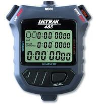 Ultrak 485 Stopwatch 3 Line Display / 60 Lap Memory