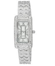 Croton Baillamo Rhodium Crystal Watch (CN207539RHMP)