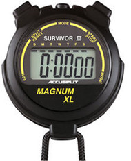 ACCUSPLIT S3MAGXLBK Stopwatch Survivor III