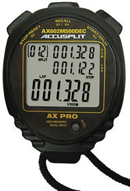 ACCUSPLIT AX602M500DEC Decimal Stopwatch