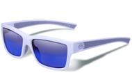 Gargoyles HOMELAND POLARIZED MATTE WHITE/SMOKE/BLUE Sunglasses