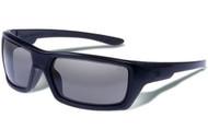 Gargoyles KHYBER POLARIZED BLACK / SMOKE Sunglasses