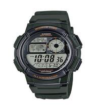 Casio Men's Digital Sport Watch AE1000W-3AVCF Green