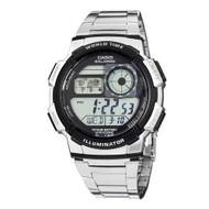 Casio Men's Digital Sport Watch AE1000WD-1AV Silver Tone