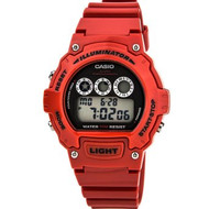 Casio Kids Digital Watch W214HC-4AVCF Red