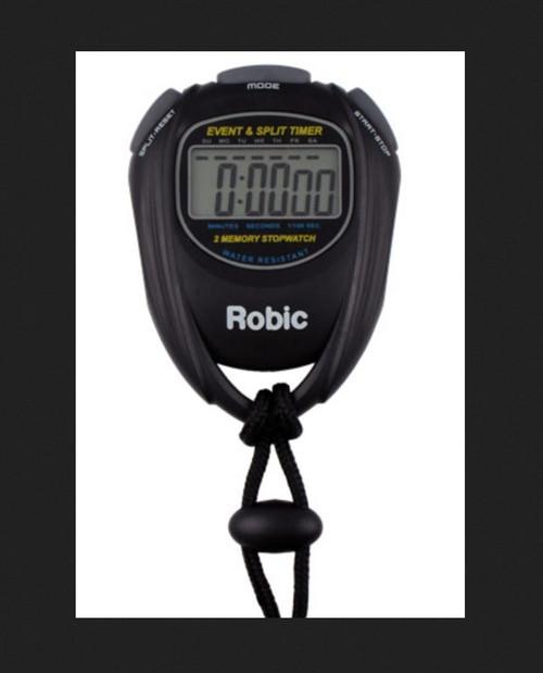 Robic SC-539 Event & Split Timer-Black (SC-539)