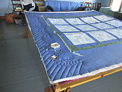 In Home Patchwork Quilt Photo
