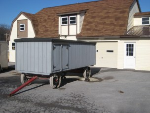 AmishQuilter Amish Bench Wagon