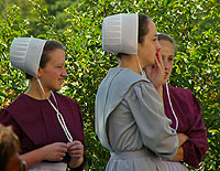 Amish Quilts - Amish Girls
