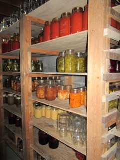 Amish Annie Canning Shelf