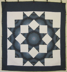 Broken Star Patchwork Amish Quilt 107x115