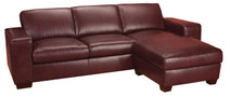 Leather Living Mission Sofa