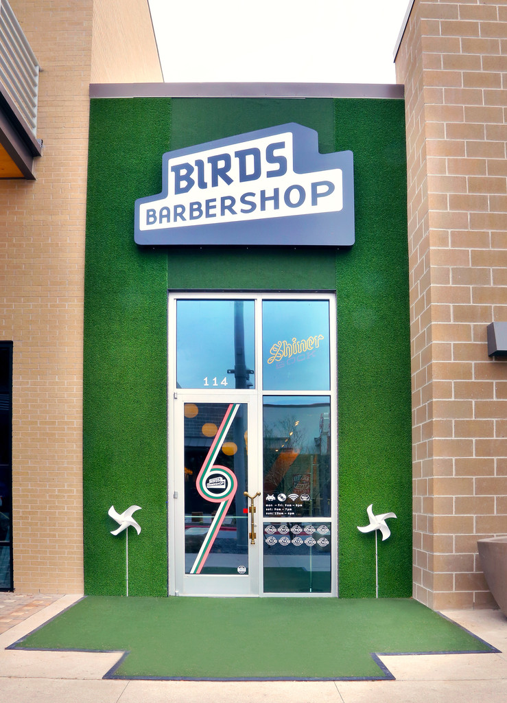 Client Spotlight: Birds Barbershop