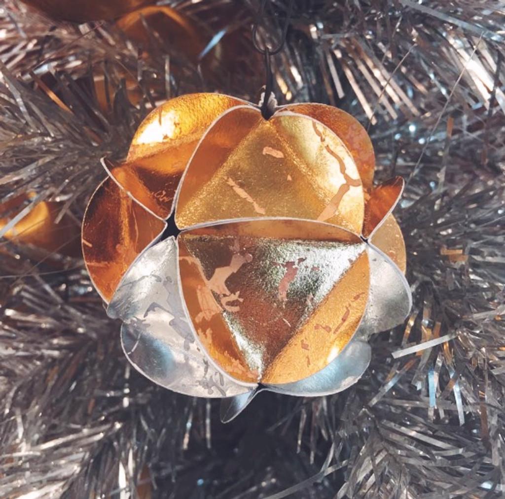DIY Series: Geodesic Paper Ornament