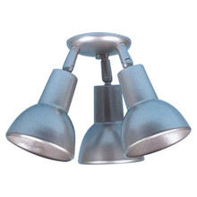 Triple Bell-shade Ceiling Fixture