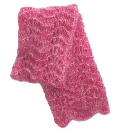 EASY CROCHET MOHAIR SCARF   CROCHET PATTERNS