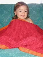 knitting pattern photo for #49 Lattice Design Baby Blanket PDF Knitting Pattern