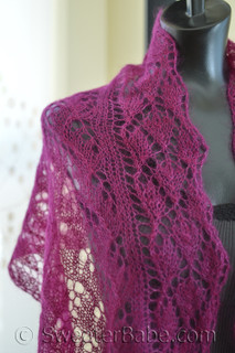 photo of #131 Fairy Tale Three-Lace Scarf PDF Knitting Pattern