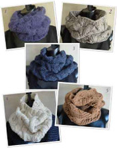 photo of #EB0002 SweaterBabe.com&#039;s 5 Best Cowls to Knit Now! PDF eBook