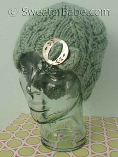 photo of #140 Vintage Charmer One-Ball Hat PDF Knitting Pattern