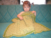 photo of #35 Lux Flowery Baby Blanket pdf Crochet Pattern