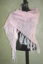 photo of #27 Crochet Mohair Shawl