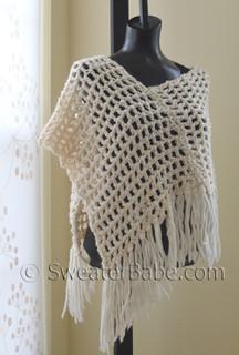 photo of #26 Chunky Crochet Poncho