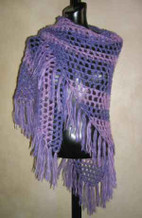 photo for #40 Simple Crochet Shawl PDF Crochet Pattern