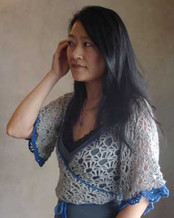 photo of #50 Kimono Wrap Lace Top