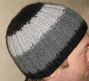 FREE Alpaca Ribbed Hat PDF Knitting Pattern