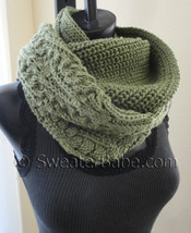 photo of #164 Night and Day Eternity Scarf knitting pattern