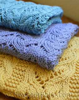 Blanket Trio Knitting Pattern eBook
