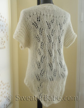 #176 tumbling leaves cardigan knitting pattern photo