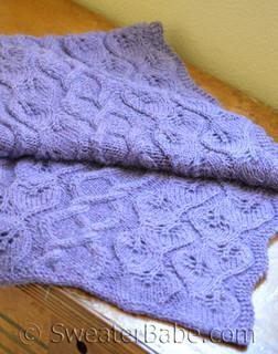 simpatico stole knitting pattern