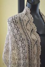 abbot kinney shawl scarf knitting pattern