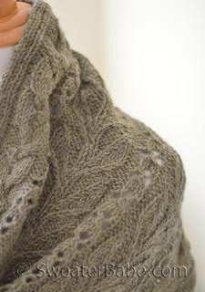 garden stroll stole knitting pattern