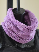 weekend cowl knitting pattern