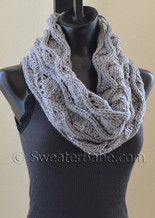 chunky eternity scarf knitting pattern