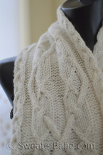 double creme brie scarf knitting pattern