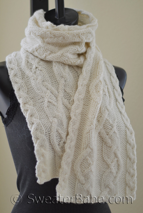 Double Creme Brie Scarf