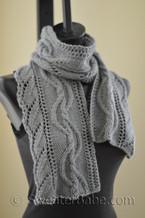 Lombard Street scarf knitting pattern