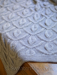 pendants blanket knitting pattern