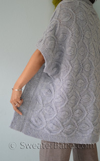 Knitting Pattern For Blanket Cardigan : PDF Knitting Pattern BUNDLE: Hamachi Cardigan + Pendants Blanket from Sweater...